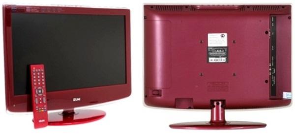 Почему монитор красного цвета