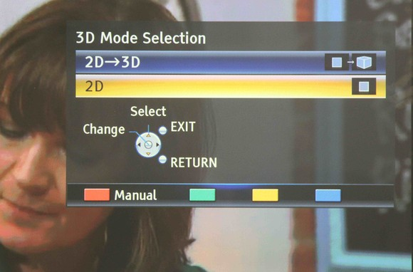 Panasonic TX-P50VT50B 2D to 3D